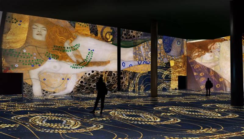 La exposición ?El Oro de Klimt? en el Ateneo Mercantil de València. EPDA