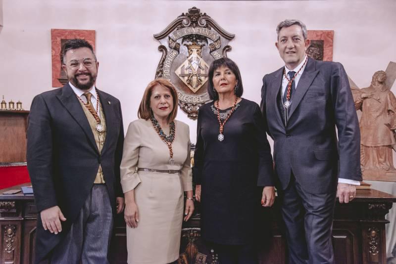 Junta Honorífica 2019 de San Vicente Martir, patrón del Gremio Artesano de Sastres y Modistas CV