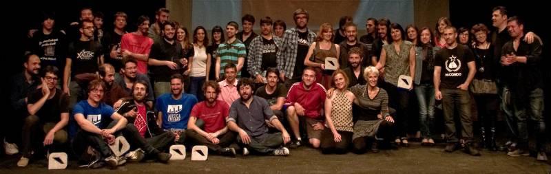Foto de la IX Edición de los Premios Ovidi, en 2014. Fuente: Llapissera.