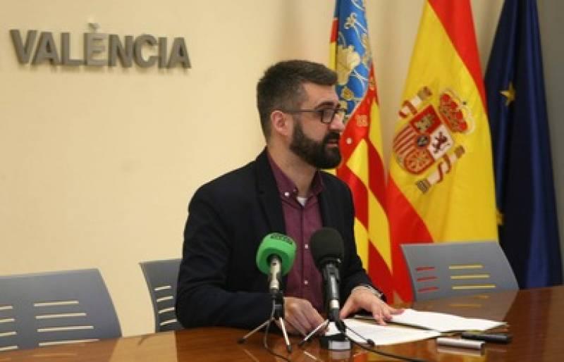 Pere Fuset en rueda de prensa