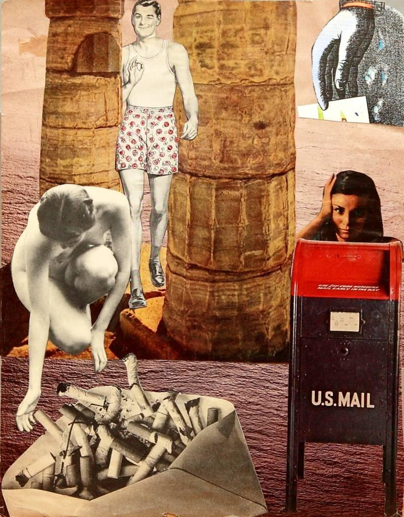 US Mail Nueva York, años 70. Amparo Segarra