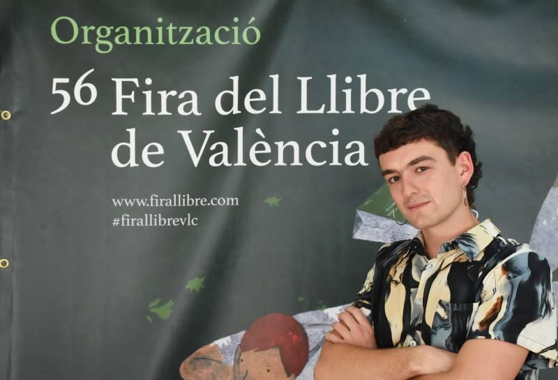 Pol Guasch a la Fira del Llibre./ García Poveda.