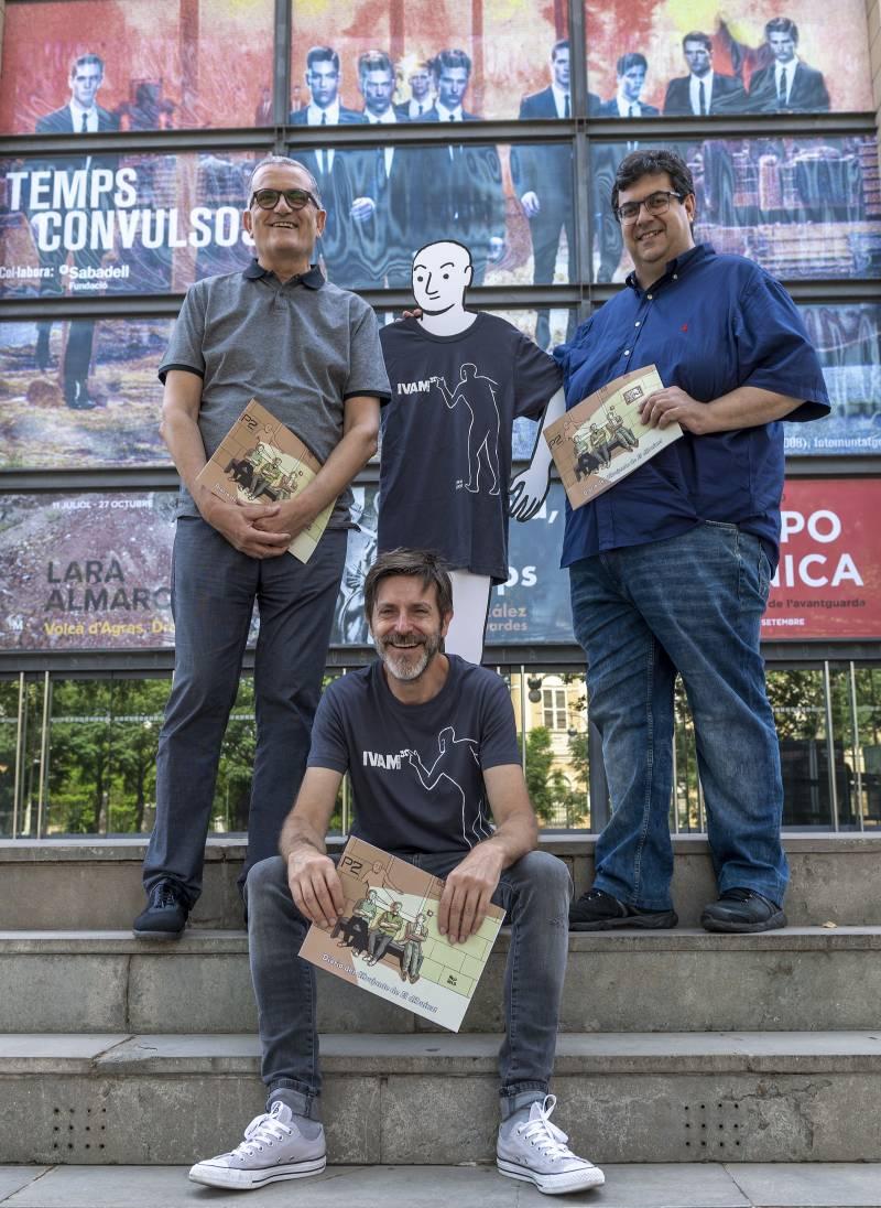 José Miguel G Cortes, Alvaro Pons y Paco Roca