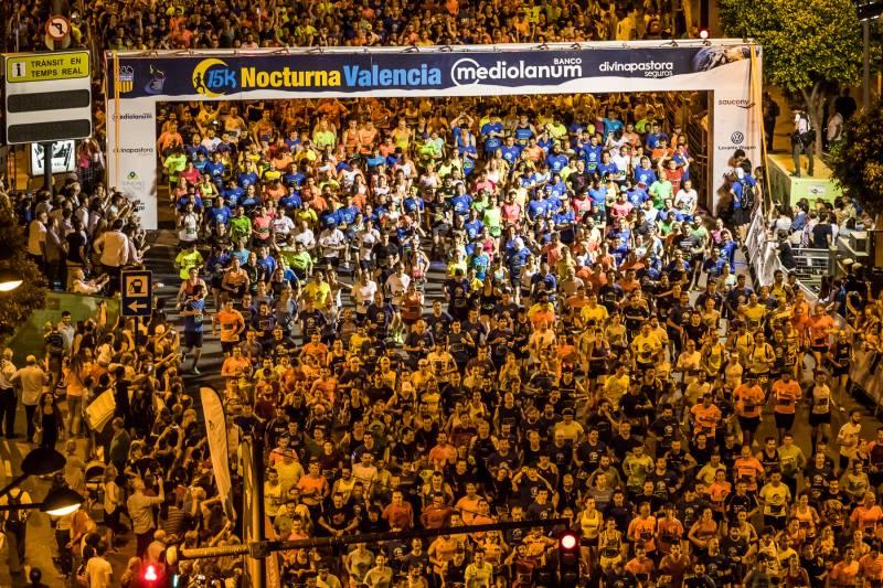 La 15K nocturna de Valencia