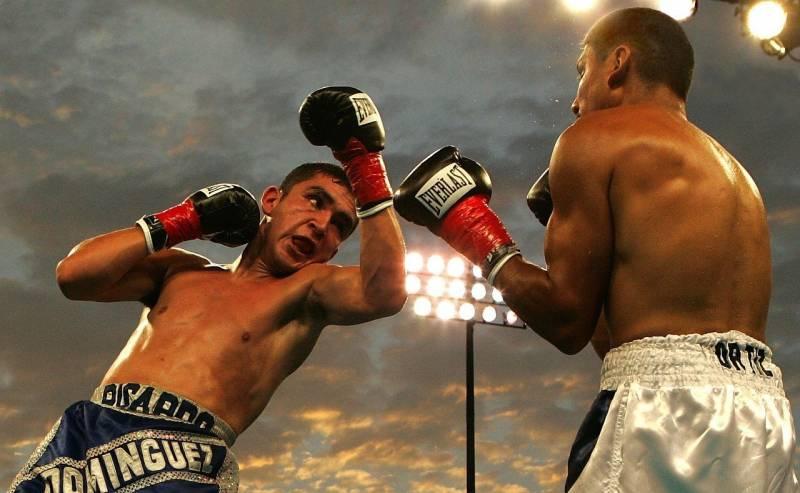 Combate de boxeo. EPDA