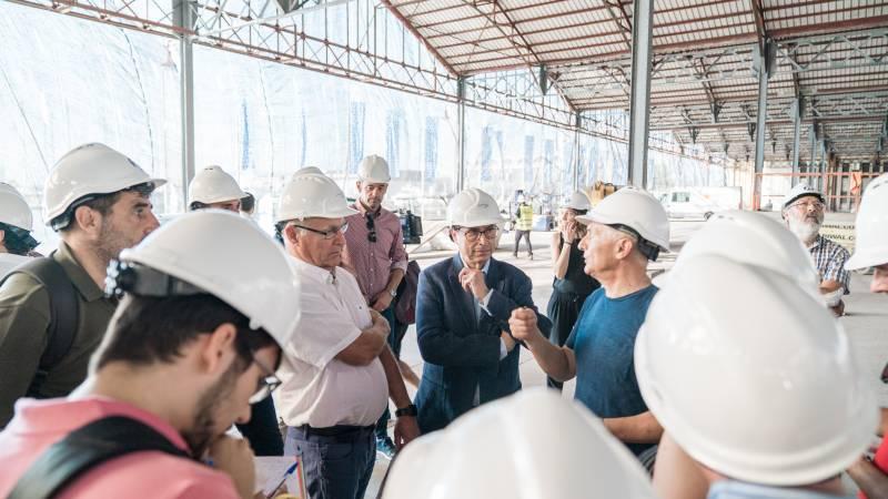 Obras San Agustín y Ayuntamiento./ EPDA
