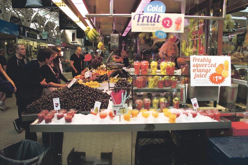 Uno de los comercios del Mercado Central. FOTO MERY
