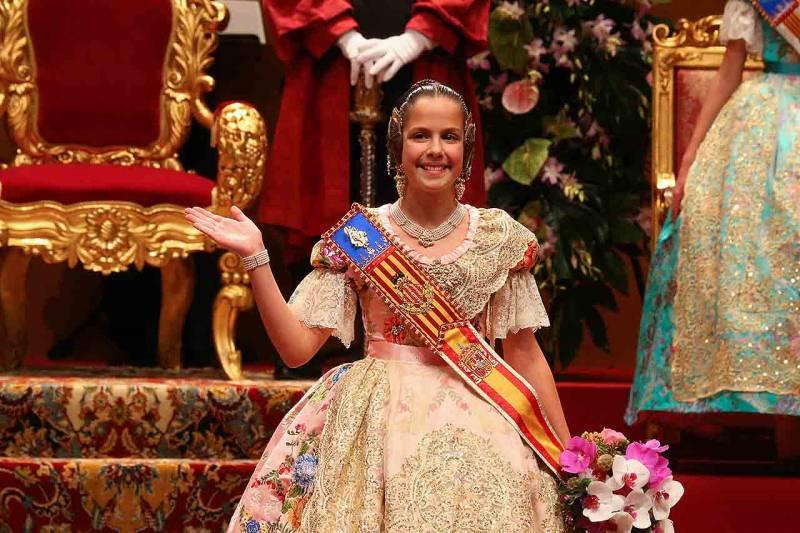 Clara Mª Parejo, Fallera Mayor Infantil de Valencia 2017