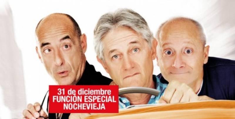 Cartel que anuncia la función especial de nochevieja en el Olympia //Viu Valencia