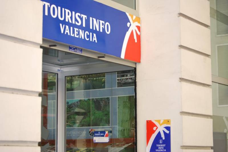 Oficina de Turismo en la ciudad de València.