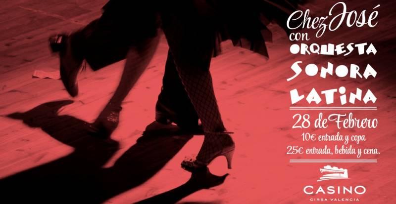 Cartel anunciador de Sonora Latina//Viu València