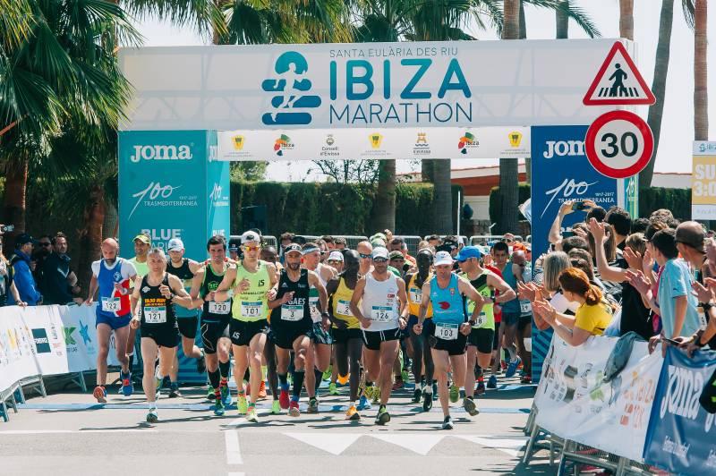Grupos de entrenamiento de Ibiza Marathon