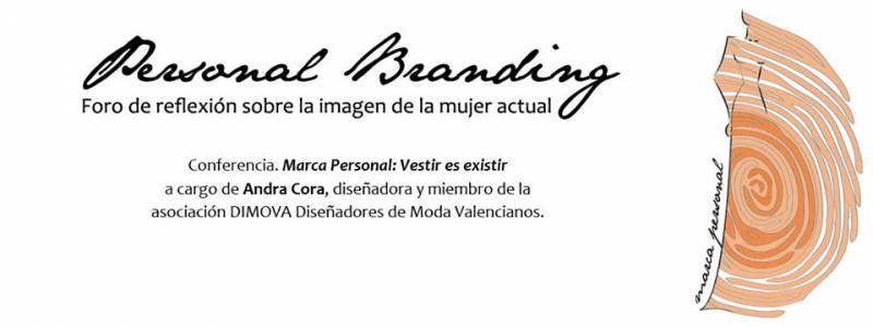 Invitación a la charla sobre moda de Marca Personal. //Viu Valencia