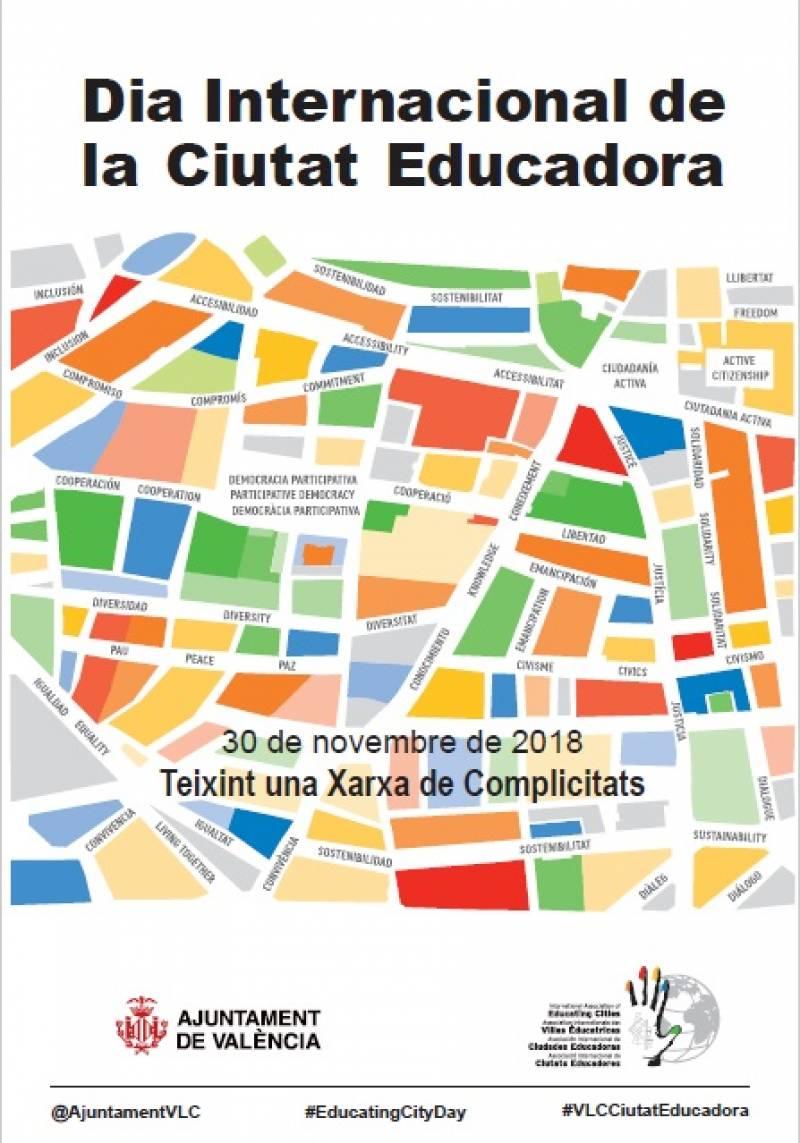 Cartel Ciudad Educadora