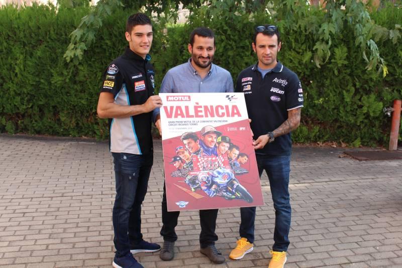 Cartel del Campeonato del Mundo de MotoGP