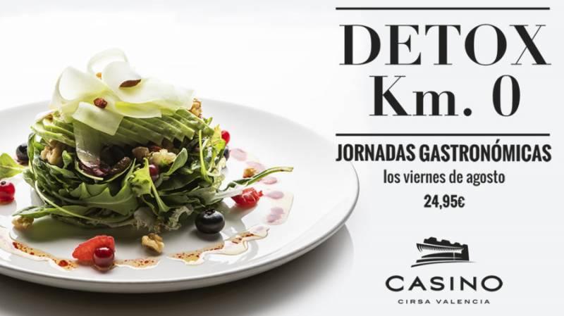 Jornadas gastronómicas agosto, Casino Cirsa Valencia