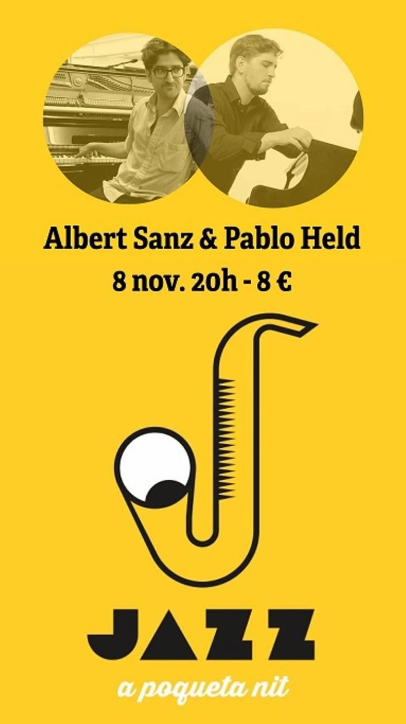 Albert Sanz y Pablo Held, Jazz poqueta nit