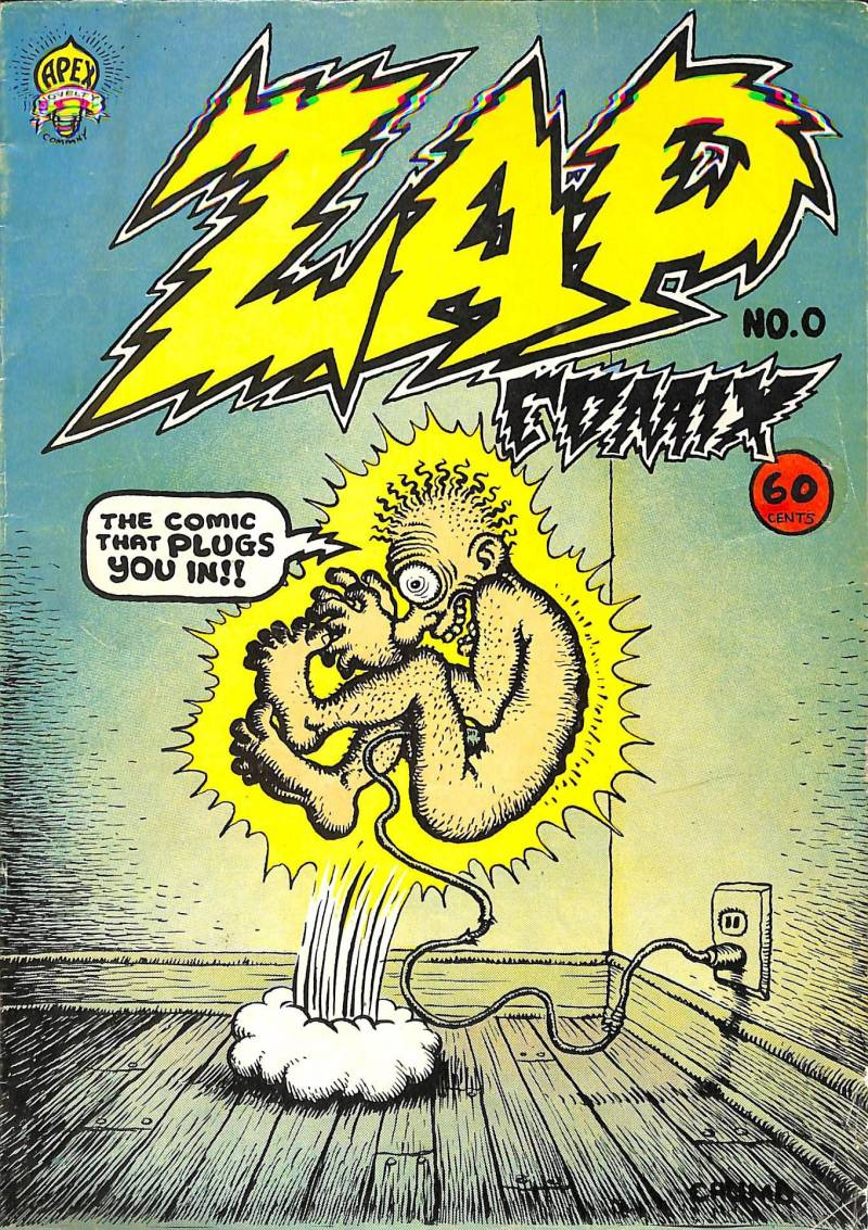 IVAM Zap comics. USA 1963