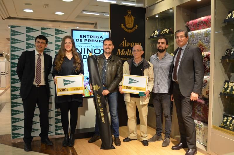 Los ganadores junto a Daniel Campos, Alejandro Moliner y Pau Pérez Rico