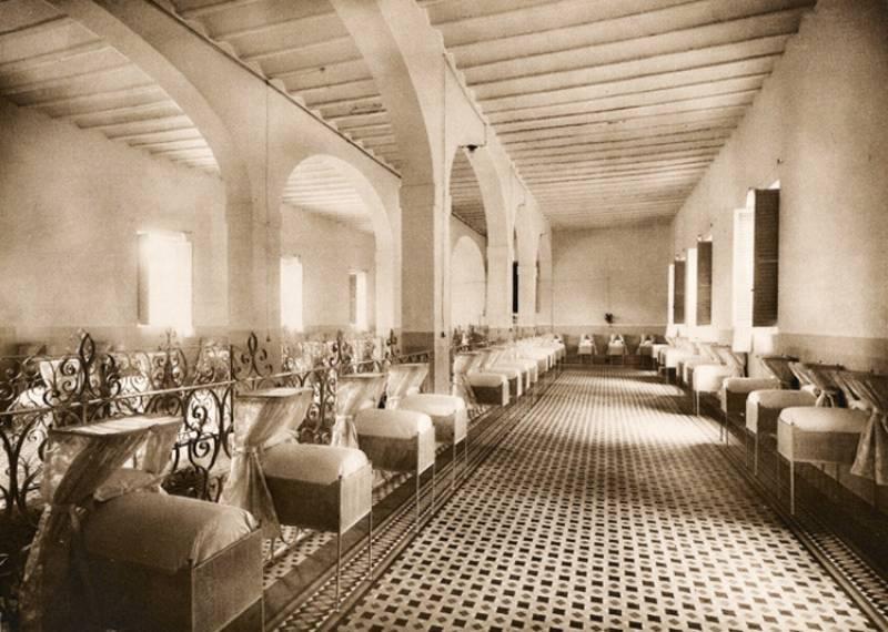 El Hospital de los Pobres Inocentes, lo que ahora es la Biblioteca de Valencia