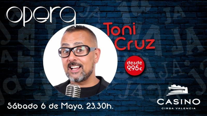 Toni Cruz en Casino Cirsa Valencia