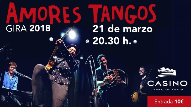 Concierto Amores Tangos Casino Cirsa Valencia