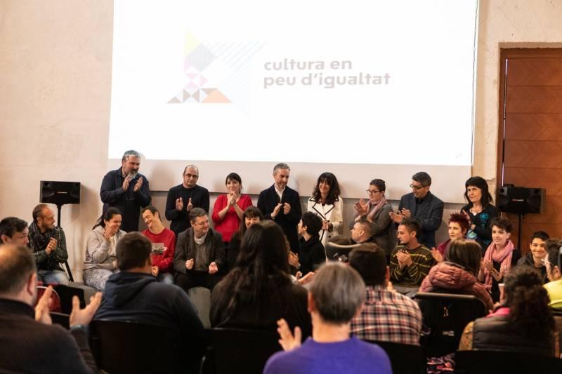 Cultura en pie de igualdad