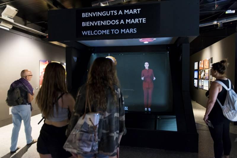 Bievenido a Marte, Holograma Museu