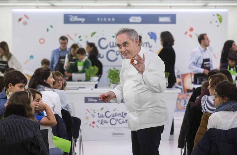 Ferran Adrià, Telefónica