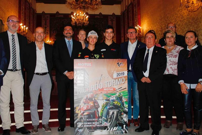 Presentación Moto GP Alacant