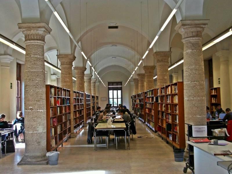 Imagen de archivo Biblioteca Valenciana./ EPDA
