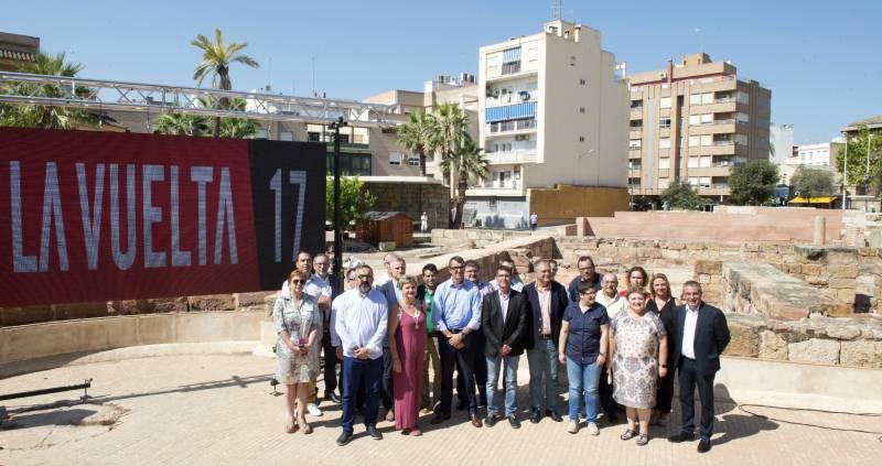 Presentación Vuelta Ciclista España en Lliria // Abulaila