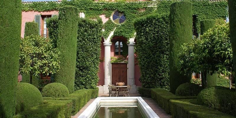Imagen de archivo jardín de Albarda./ EPDA