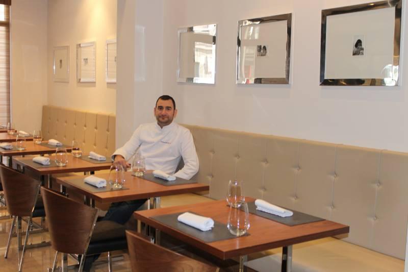 Quique Barella regenta junto a su mujer Elsa Fuillerat este restaurante//E.C.