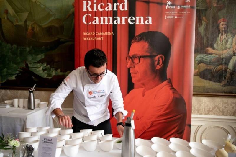 El tres estrellas Michelín Jesús Sánchez cocinará con Susi Díaz en Mediterránea Gastrónoma 2020./ EPDA