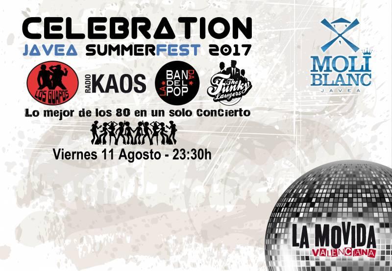 Cartel Celebration Javea 2017