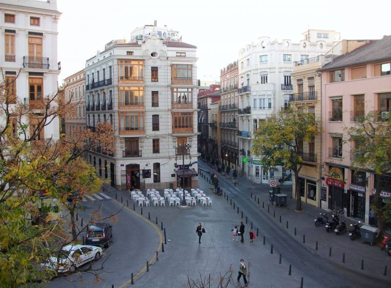 Plaça dels Furs de València