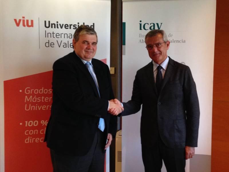 Firma convenio VIU -ICAV