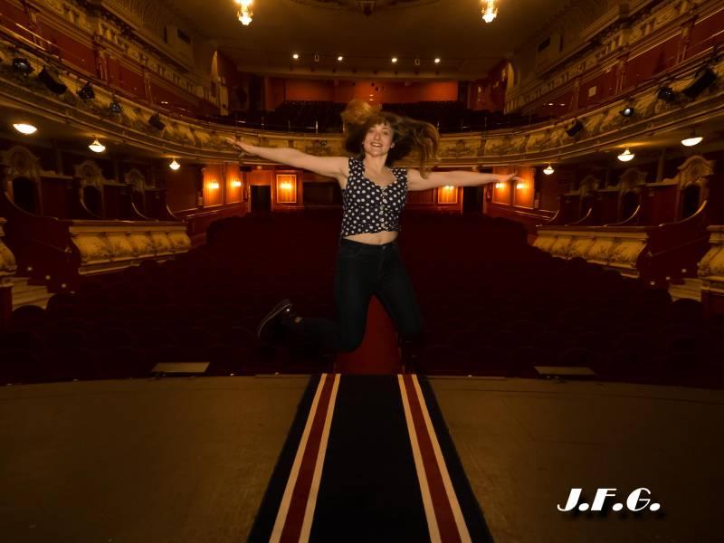 La pasión por el teatro