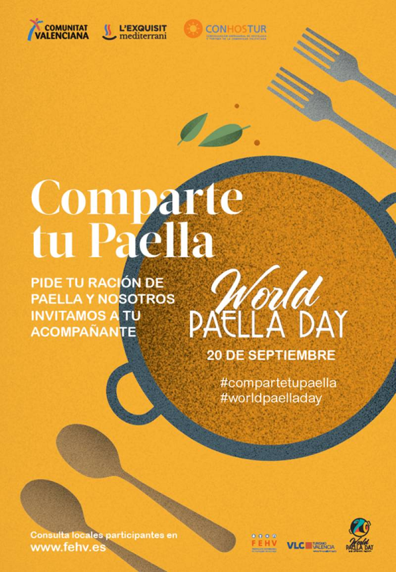 Cartel World Paella Day