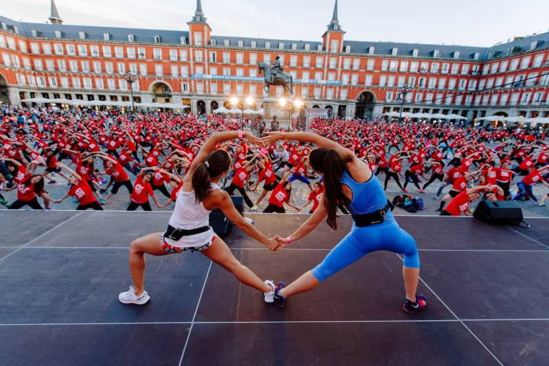 WH Fit Night Out 2016 Madrid