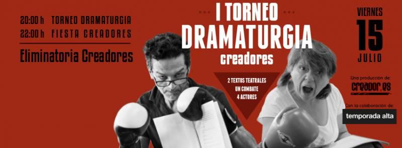 Primera ronda del I Torneo de Dramaturgia