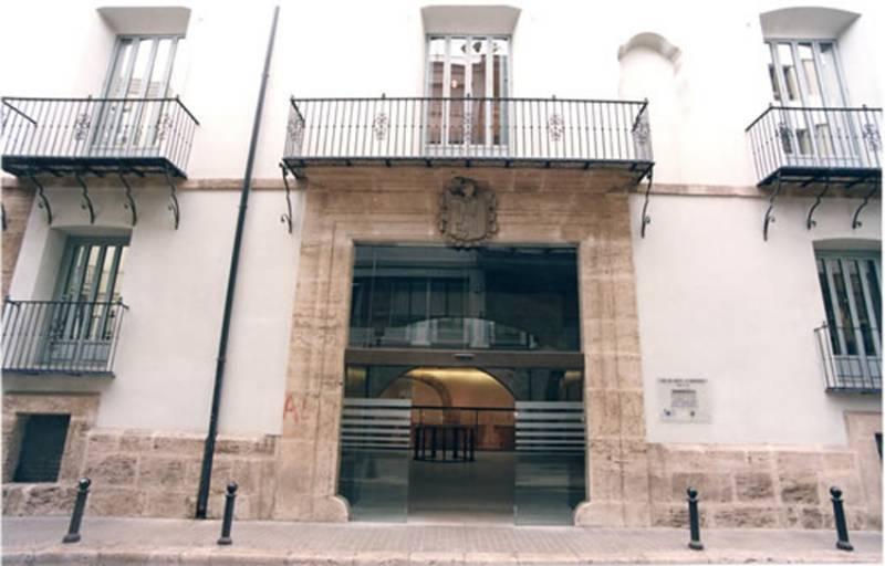 Palacio de los Boil de Arenós, dónde se encuentra la Bolsa de Valencia