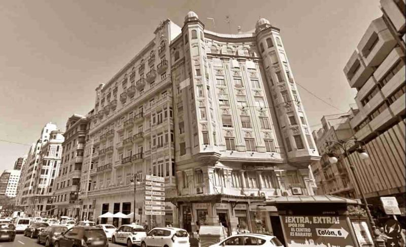 El desaparecido Hotel Metropol de València