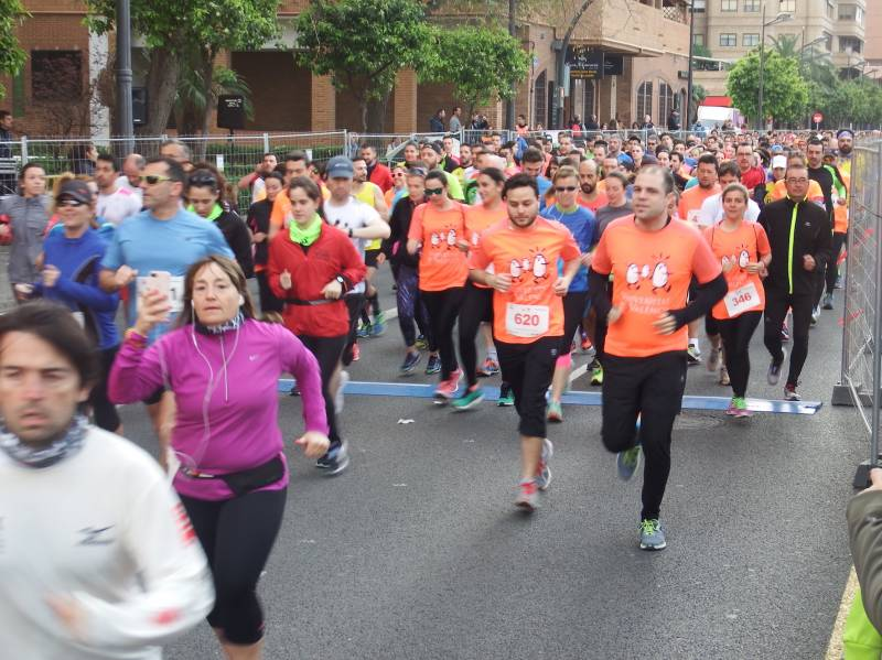 Carrera popular UV