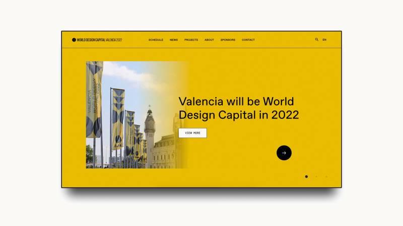 Nueva web Capital Mundial del Diseño. EPDA