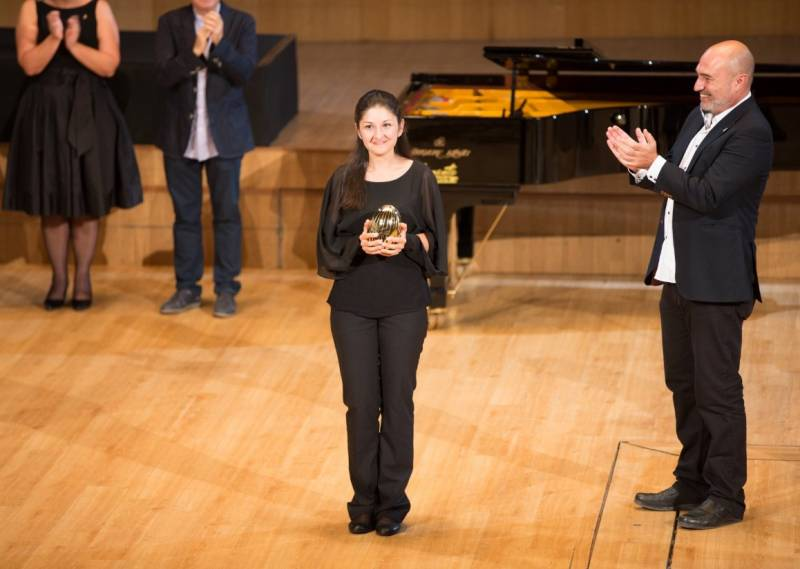 Fatima Dzusova, ganadora del Premi Iturbi