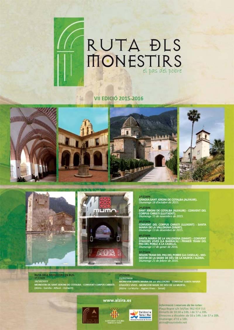 Ruta de los monasterios. //Viu Valencia