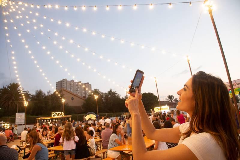 Solmarket duplicará su espacio y oferta de ocio el próximo año tras el éxito de su tercera edición en El Puig
