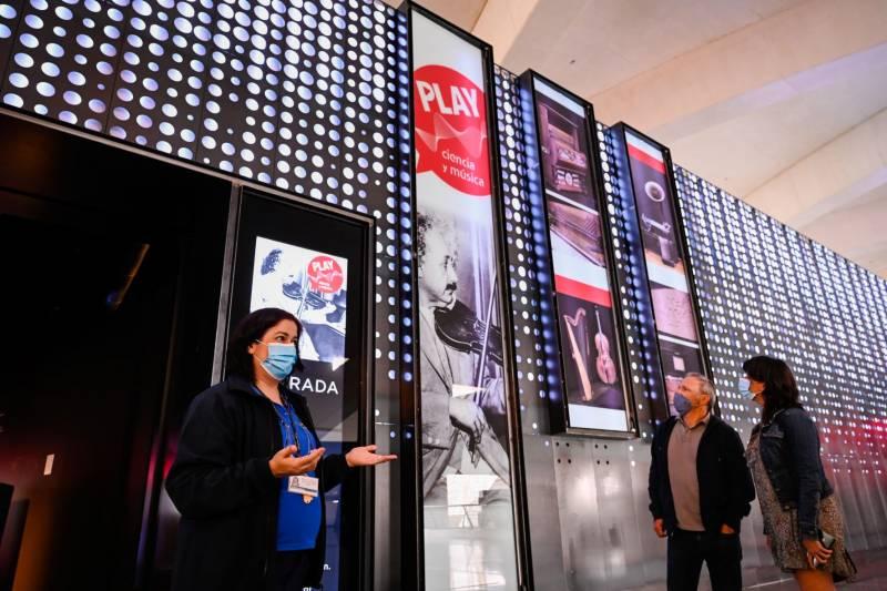 La exposición ?Play. Ciencia y música? del Museu de les Ciències. EPDA